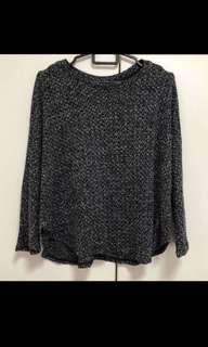 BN cotton on batwing knitted TOP