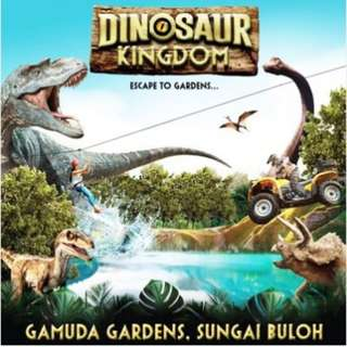 One Day Unlimited Entry Pass to Dinosaur Kingdom @ Gamuda Gardens