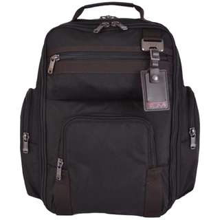 Tumi 69382 Tacoma Laptop Rucksack Travel Black Nylon Backpack