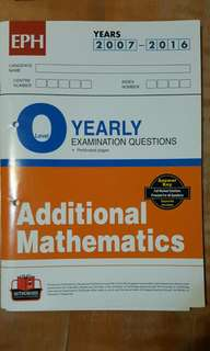 O Level Exam Qns ~ A Math