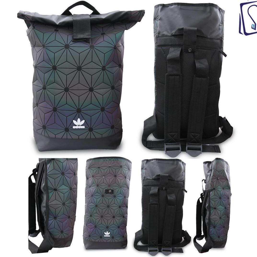 Adidas X Issey Miyake 3D Mesh Roll Top Backpack cce94e775ed73