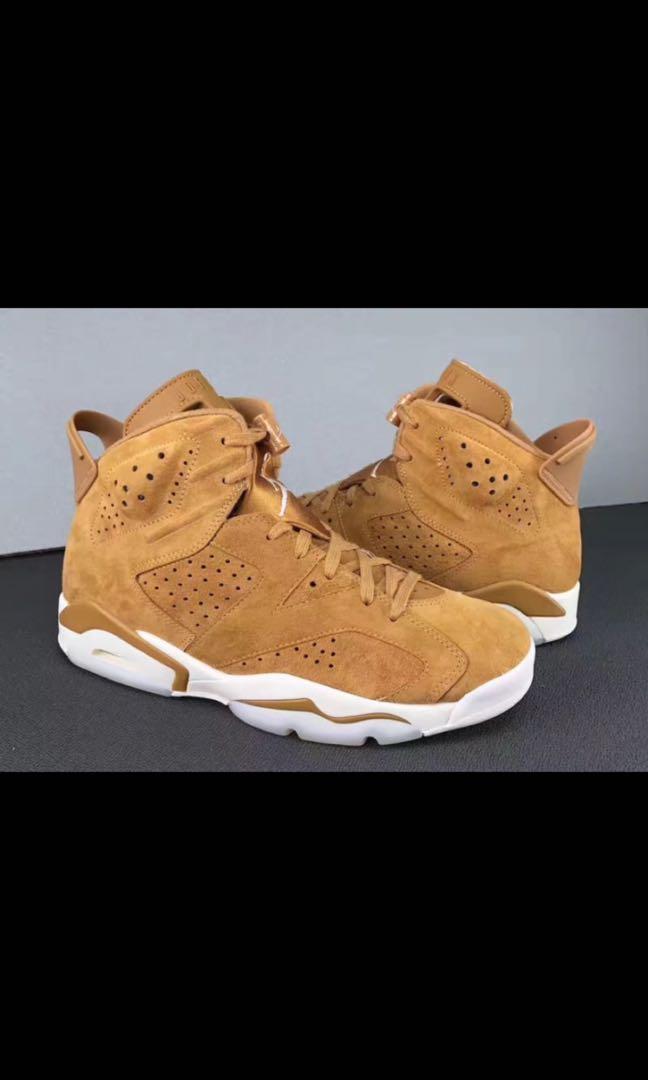 b8e14dae24a6 Air Jordan 6 Golden Harvest Wheat