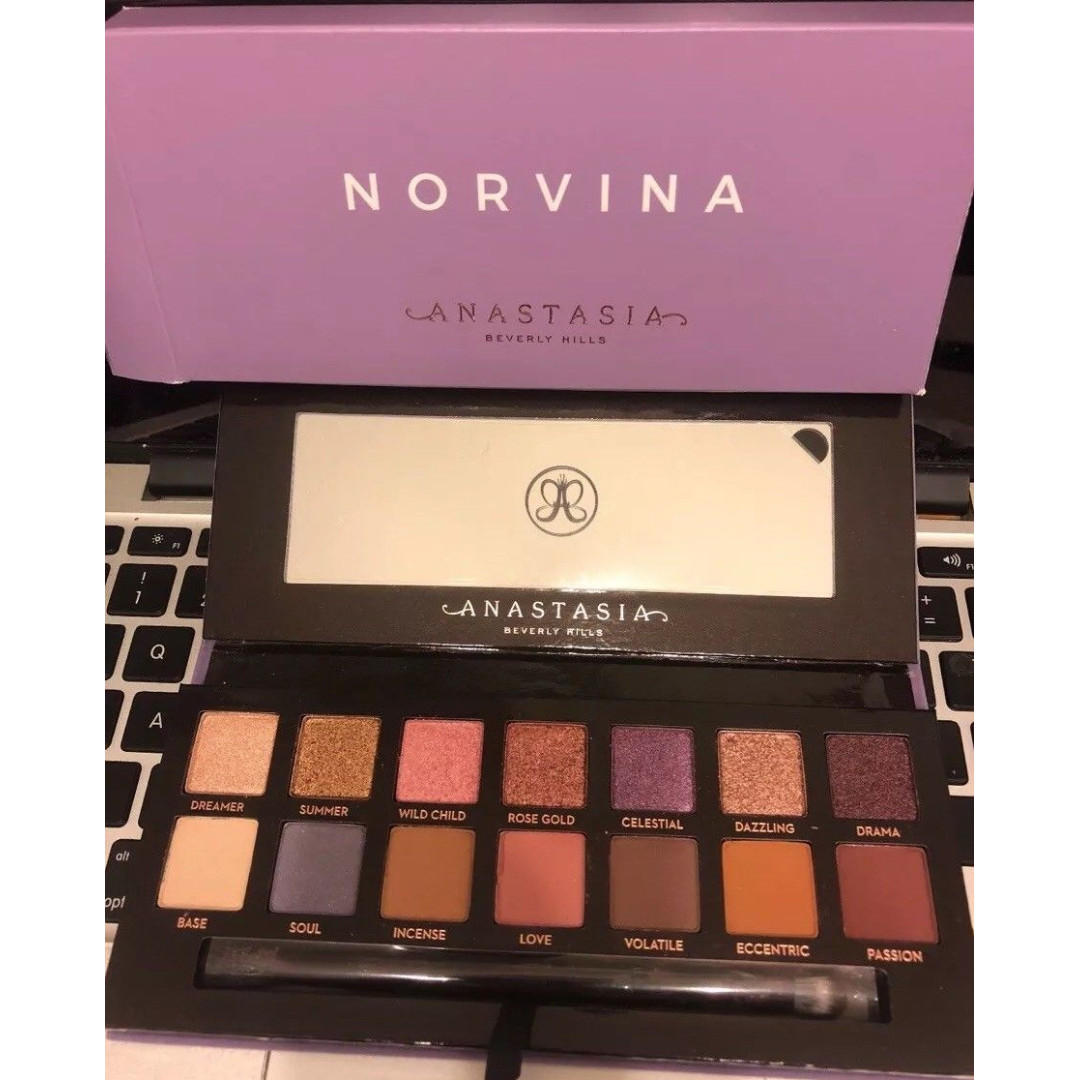 Anastasia Beverly Hills Norvina Palette 100% Authentic & New FREE SHIPPING