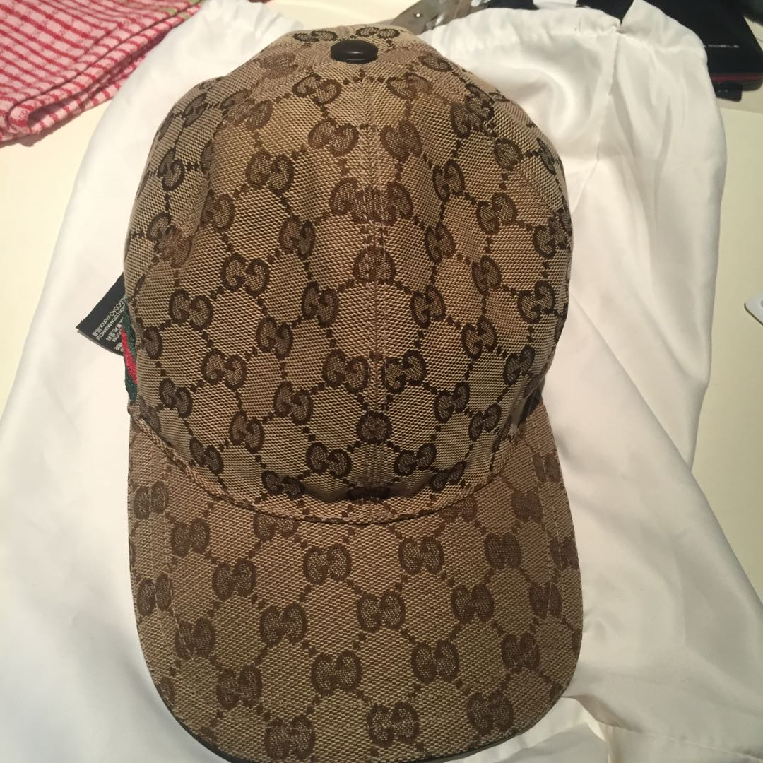 Authentic Gucci Cap Negotiable 0ec6021ebb3