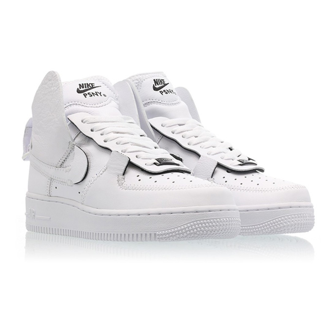 2c2d4dd409968 Authentic PSNY x Nike Air Force 1 High White