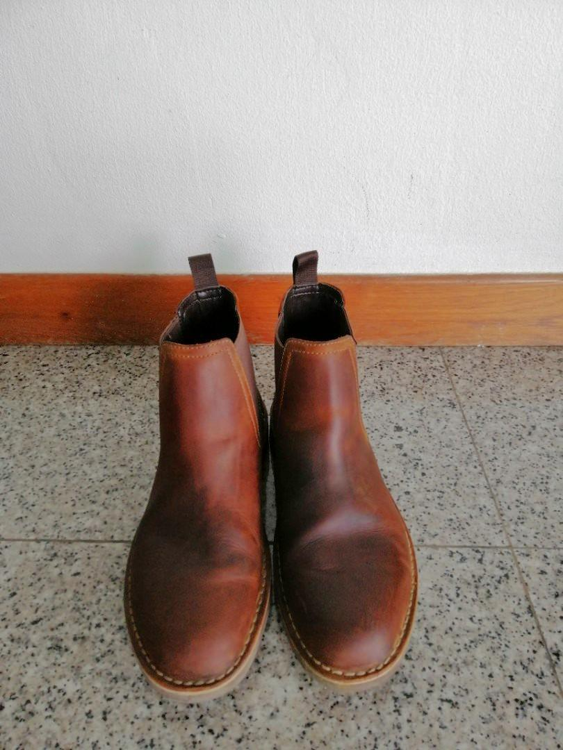 the best outstanding features variety of designs and colors Clarks Brown Leather Chelsea Boots, Men's Fashion, Footwear ...
