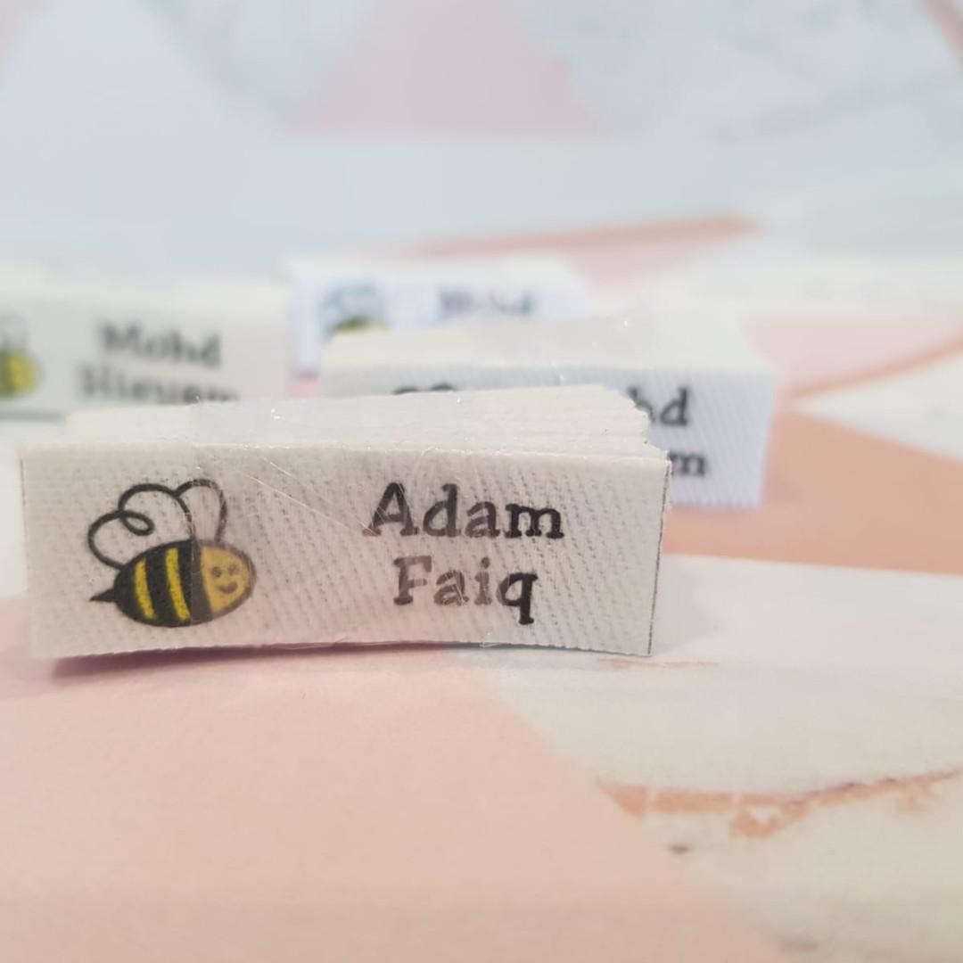 Custom order name tag uniform iron on custom clothing name labels♥♥♥