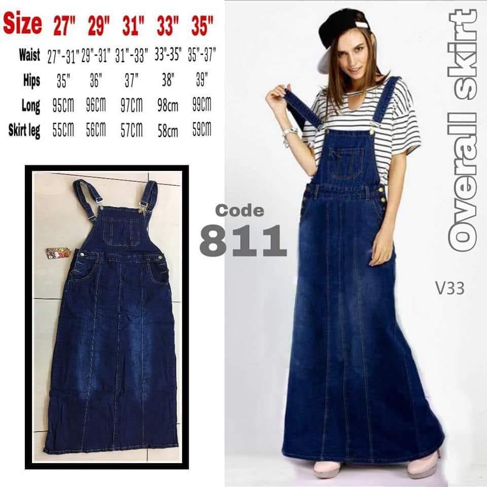 5305e1e9a5 Denim Overall Dress, Women's Fashion, Clothes, Rompers & Jumpsuits ...