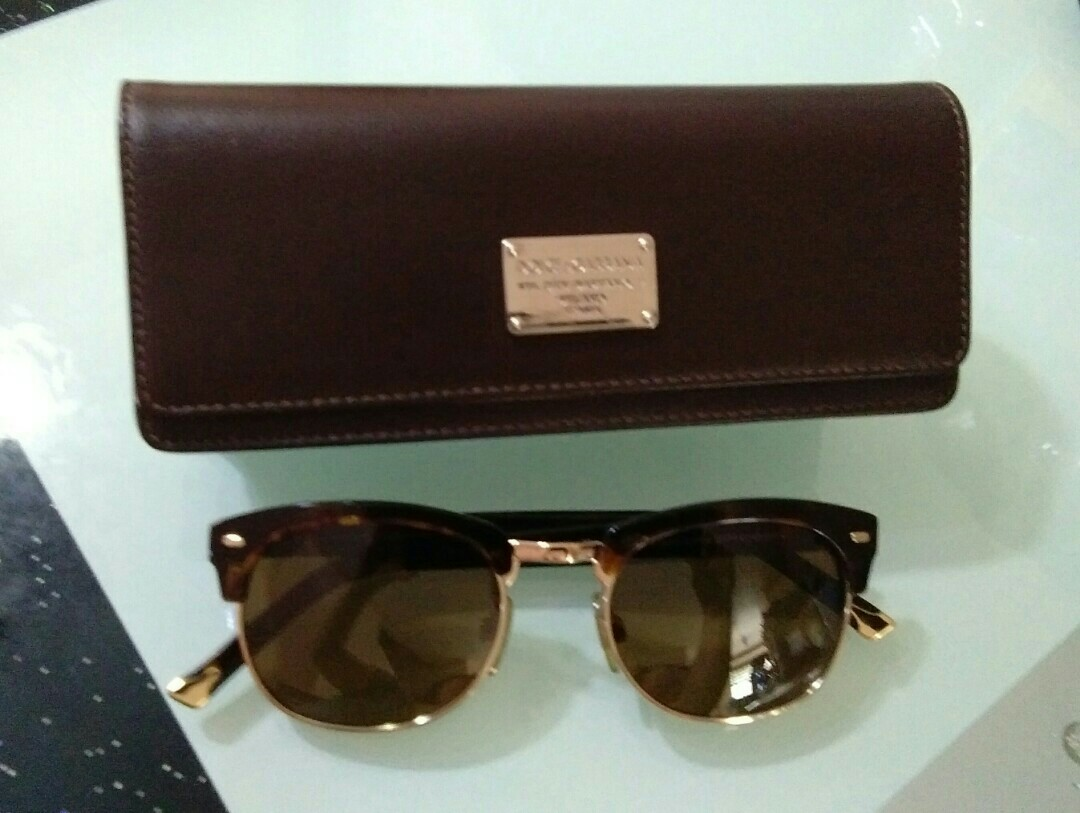 dac009478d9e REPRICED! AUTHENTIC POLARIZED DOLCE AND GABBANA SUNGLASSES
