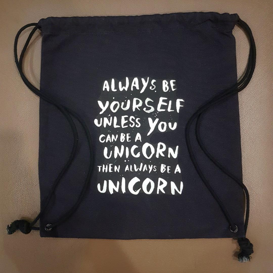 0dadd11b5eae Dreamcatcher // Quote Drawstring Bags, Women's Fashion, Bags ...