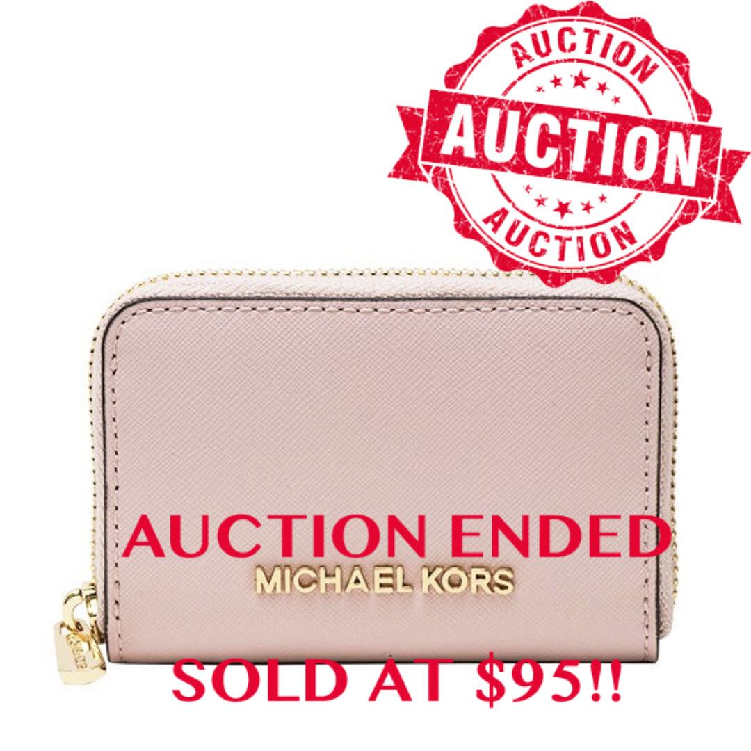 f73b03048b6ccc ENDING SOON!!Auction Bidding Authentic Brand New Michael Kors Card ...