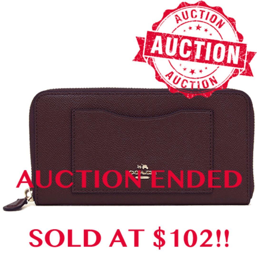"edf2a298693b ⏰ENDING SOON!!Auction ""Like""   ""Bid"" Authentic Brand New Coach ..."