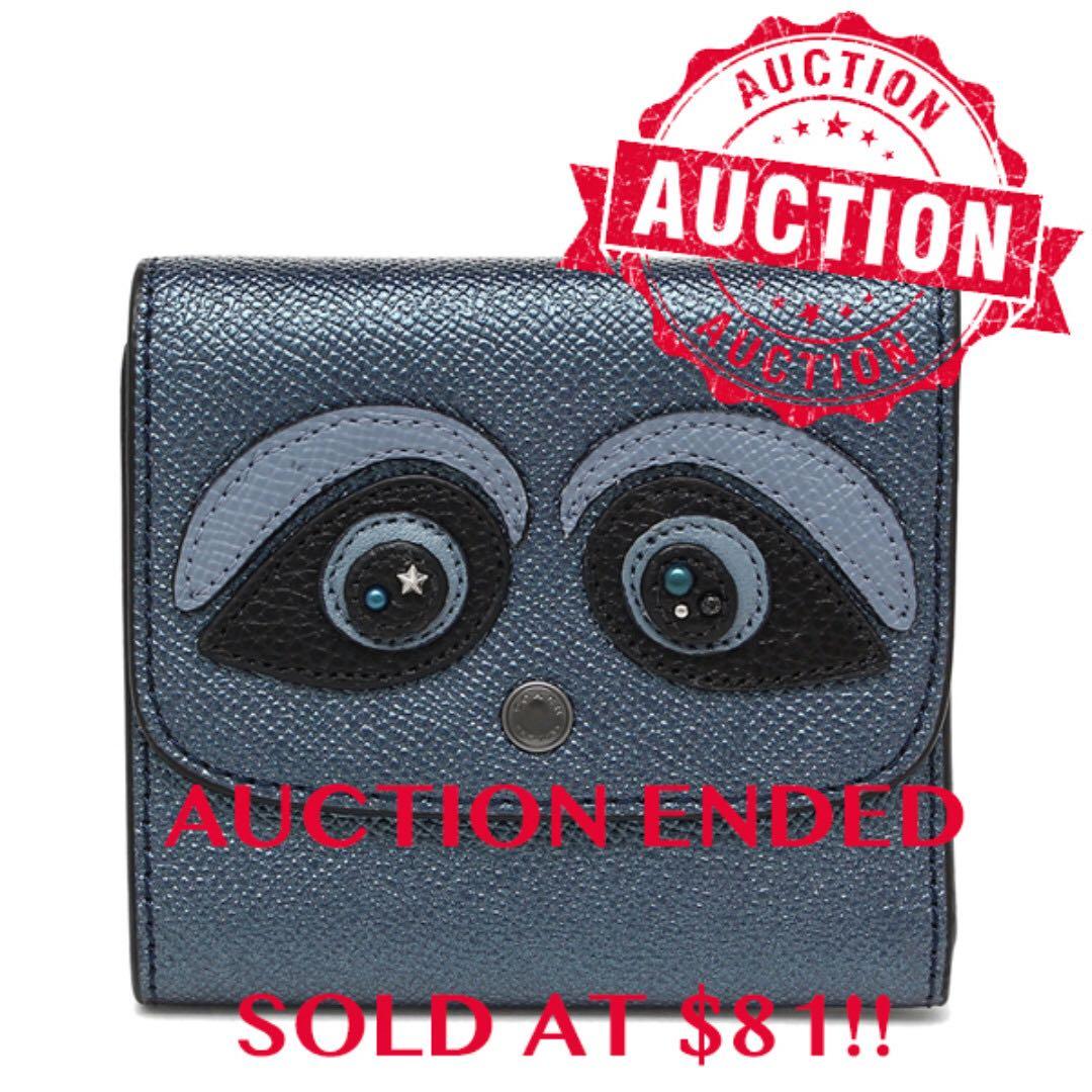 "332066489443 ⏰ENDING SOON!!Auction ""Like"" & ""Bid"" Authentic Brand New Coach Bear ..."