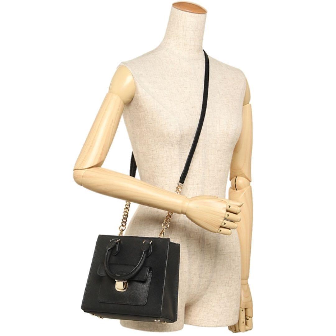 "31cdfdfbc08a Auction ""Like"" & ""Bid"" Authentic Brand New Michael Kors Bridgette Small  Saffiano Leather Crossbody Black From USA Seggusted Retail: $598, Luxury,  ..."