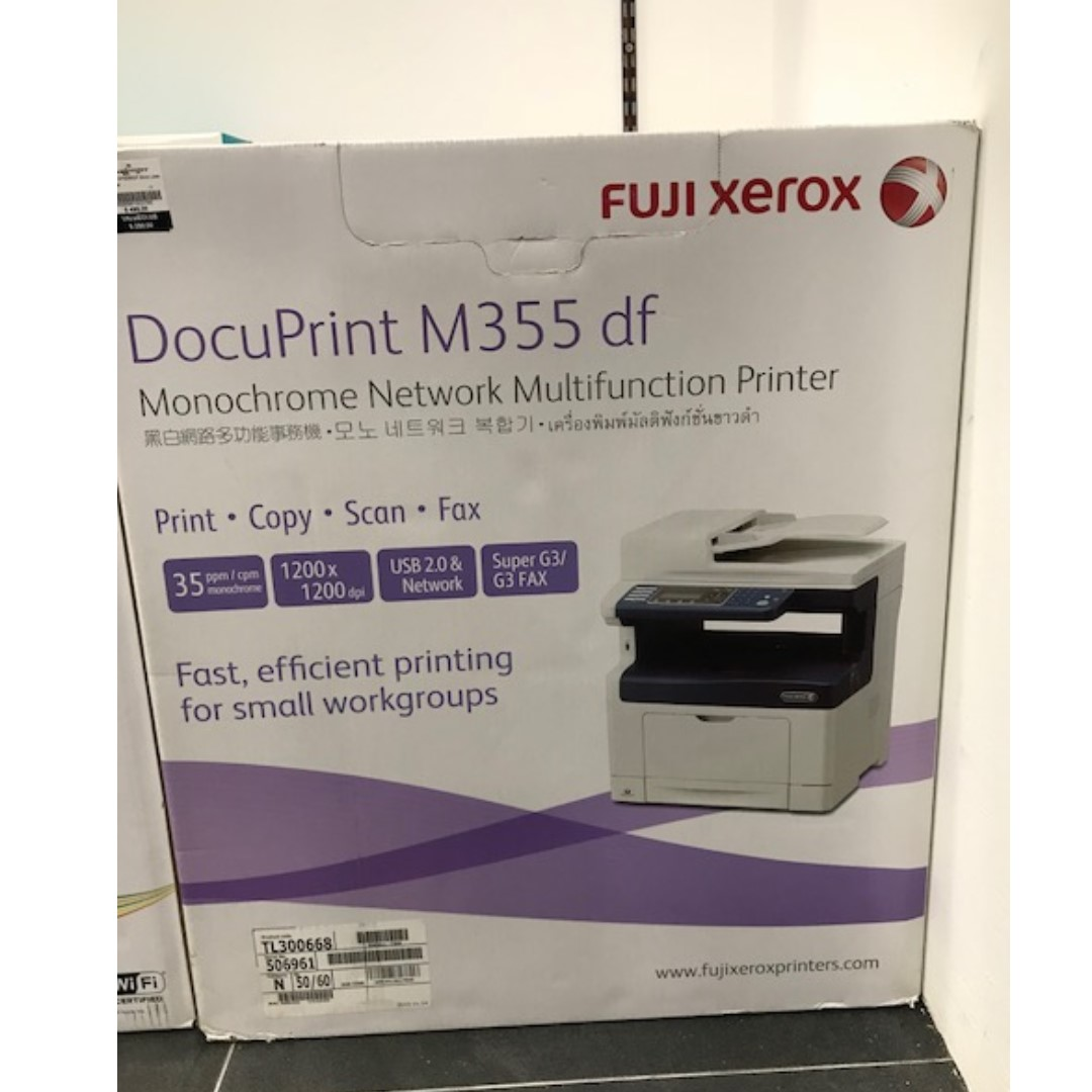 Fuji Xerox M355DF Mon Laser AIO Printer