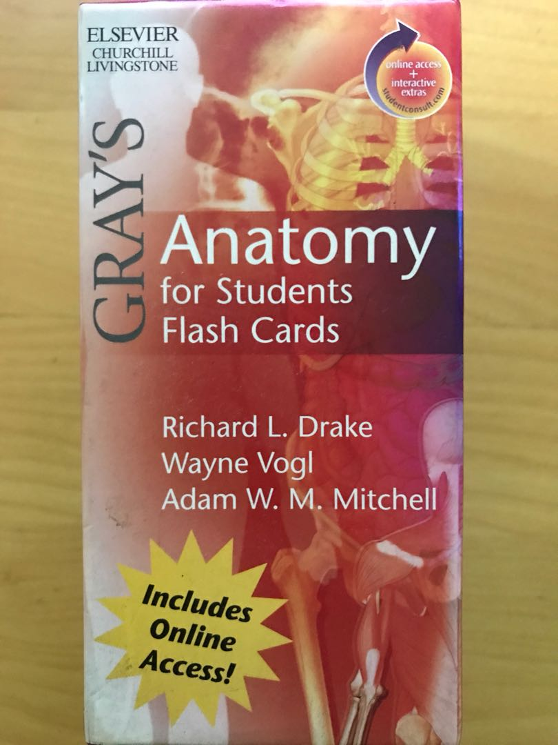 Grays Anatomy For Students Flash Cards Books Stationery