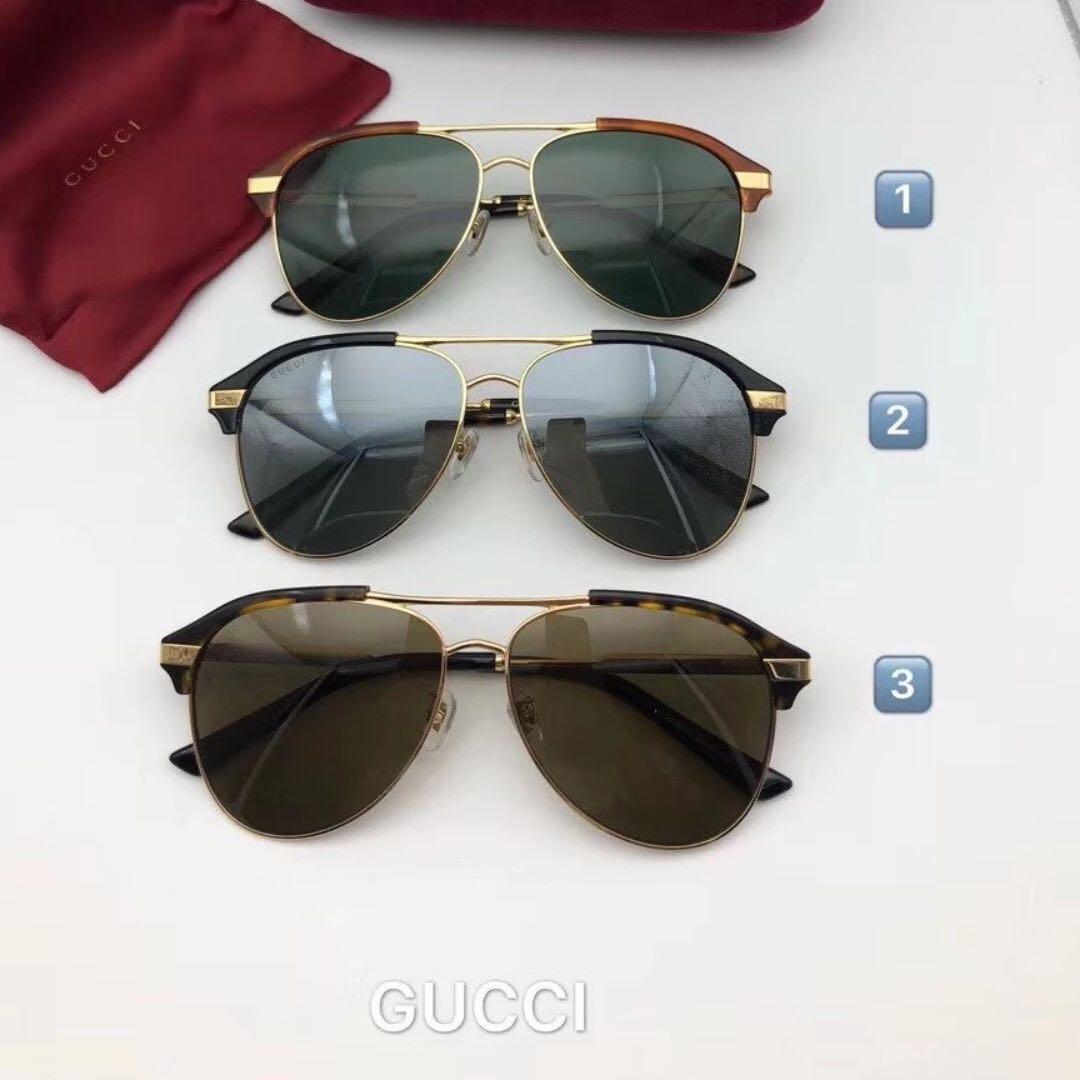 e3efb1c38d Gucci aviator metal sunglasses