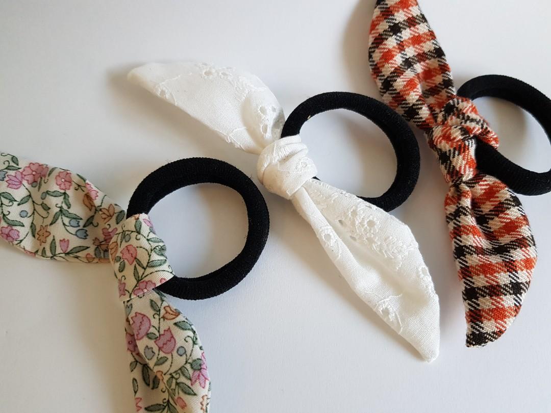 Handmade Hair ties bcd355a7fc0