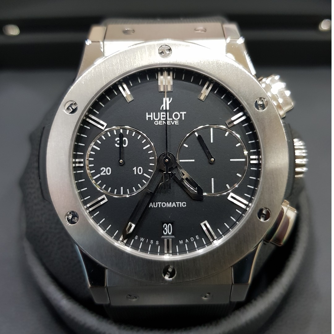 531734226ec Hublot classic Fusion Chronograph, Luxury, Watches on Carousell