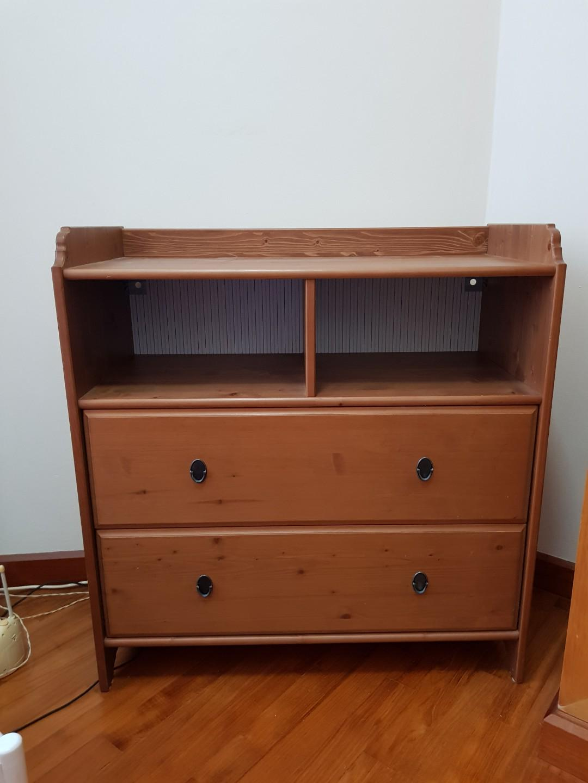 Prime Ikea Leksvik Changing Table Or Cabinet Furniture Shelves Download Free Architecture Designs Intelgarnamadebymaigaardcom