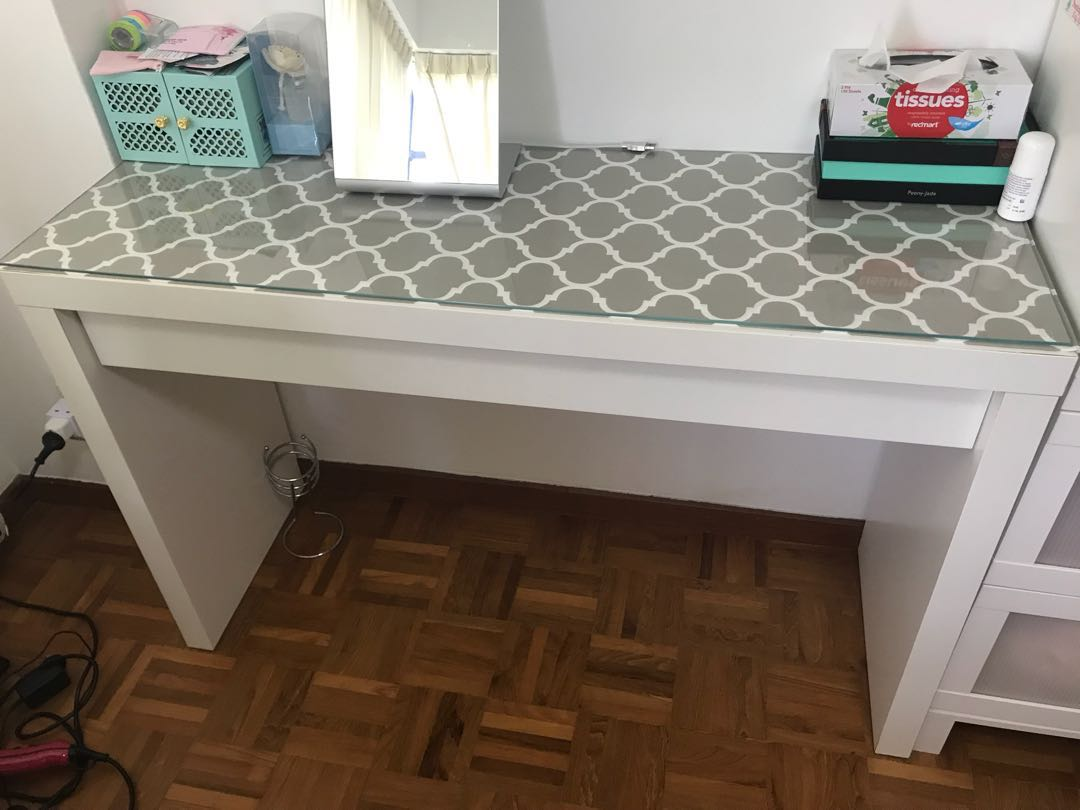 Ikea Vanity Table Furniture Others On Carousell