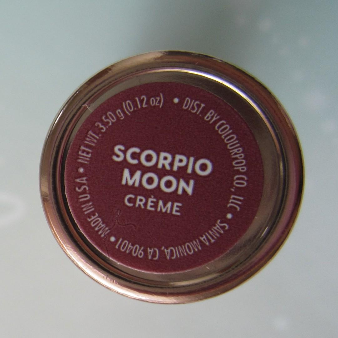KATHLEEN LIGHTS x Colourpop Crème Lux Lipstick SCORPIO MOON