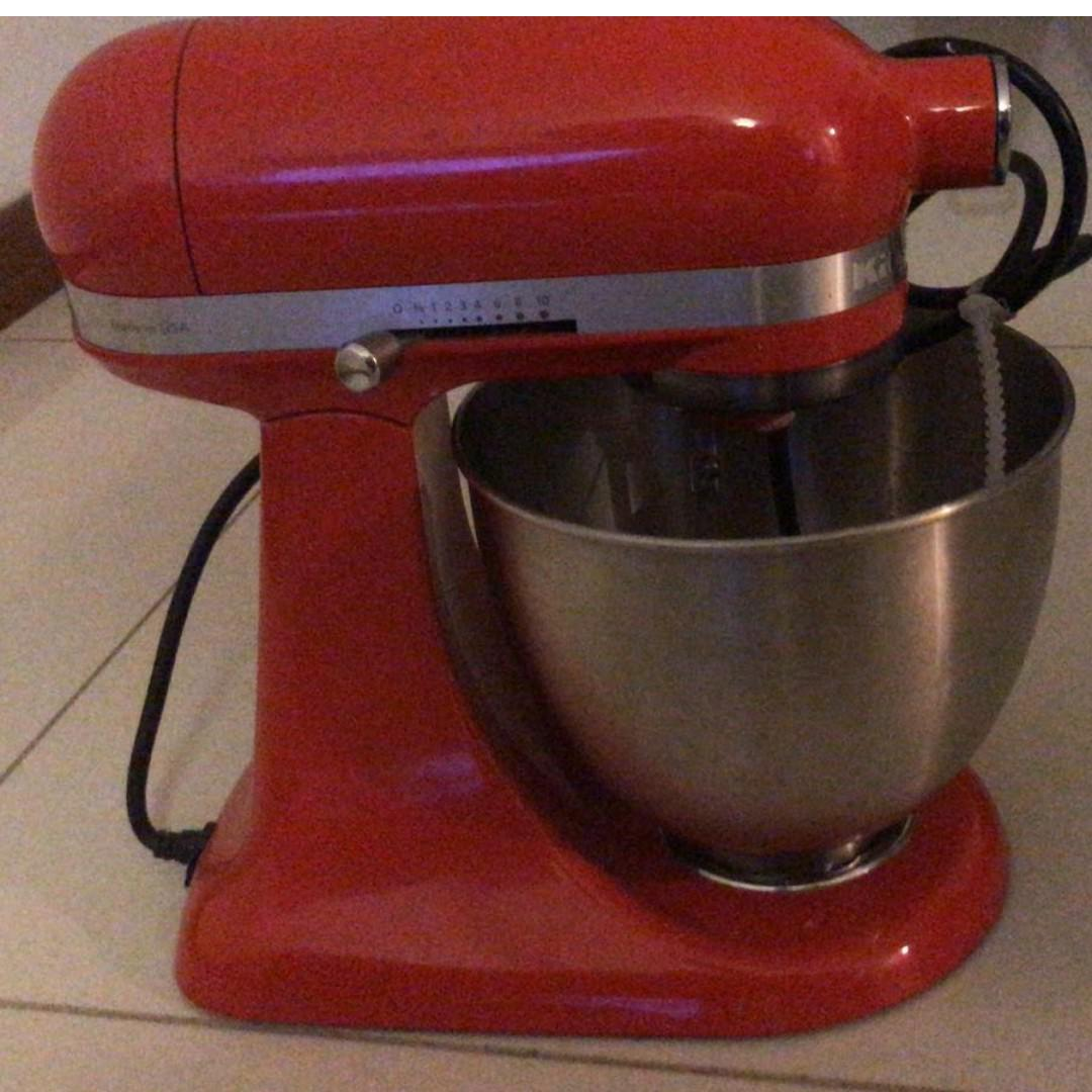 Kitchenaid Mini 3 5qt Tilt Head Stand Mixer 3 3l 5ksm3311xb Home Appliances Kitchenware On Carousell