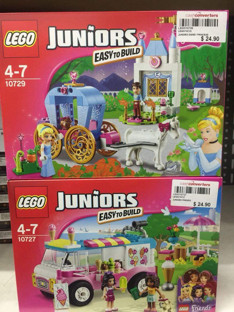 Lego Junior Set 1990 Each Toys Games Bricks Figurines On