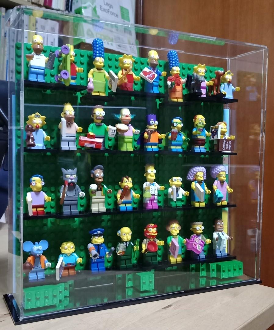 New Lego Minifigures Acrylic Display Case, Toys & Games, Bricks &WF28