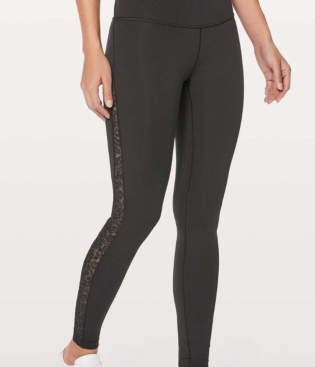 6263ae391a563 lululemon hi-rise wunder under tights size 4 in midnight blue ...