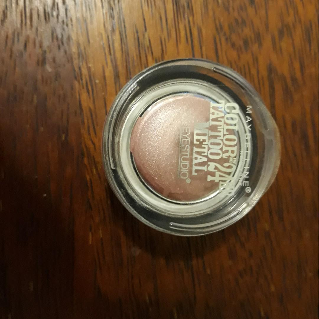 Maybelline color tattoo pink gold