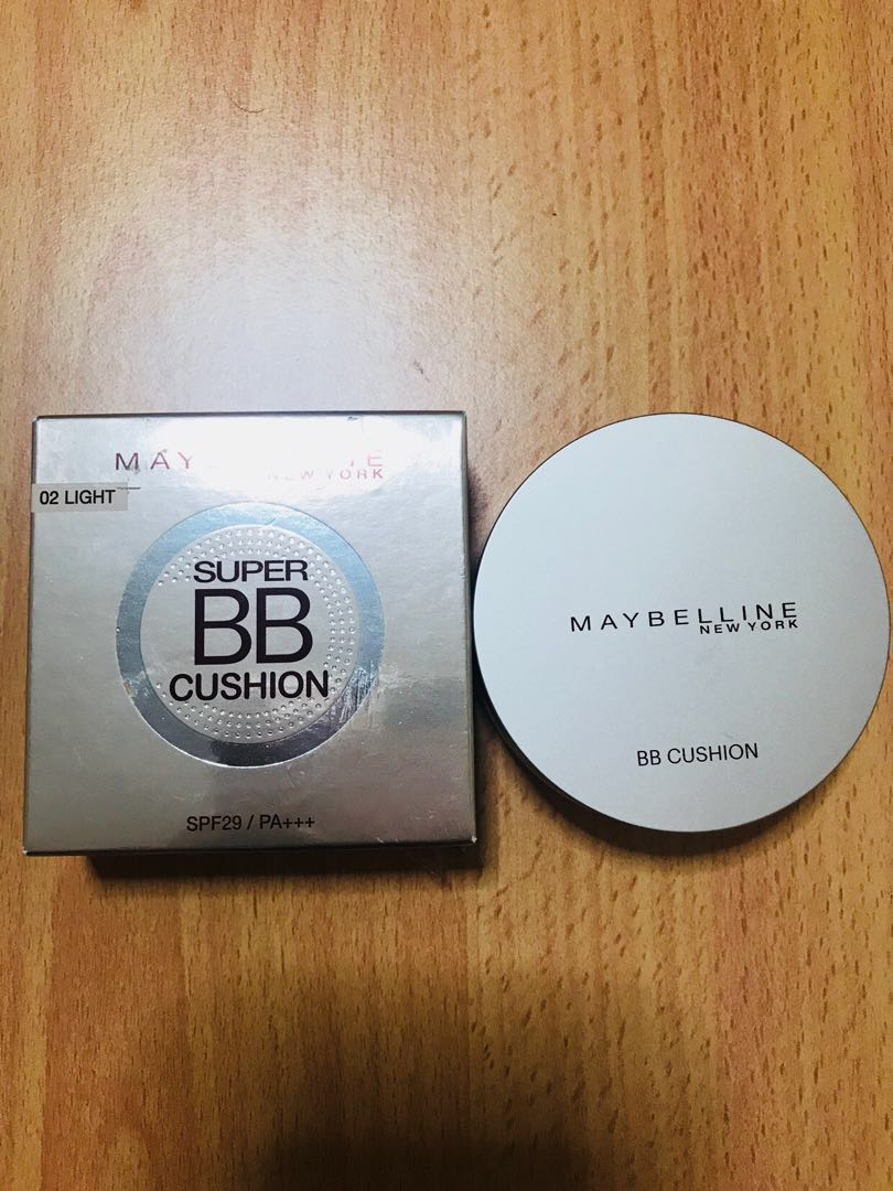 Maybelline Super Bb Cushion Health Beauty Makeup On Carousell Sand Beige