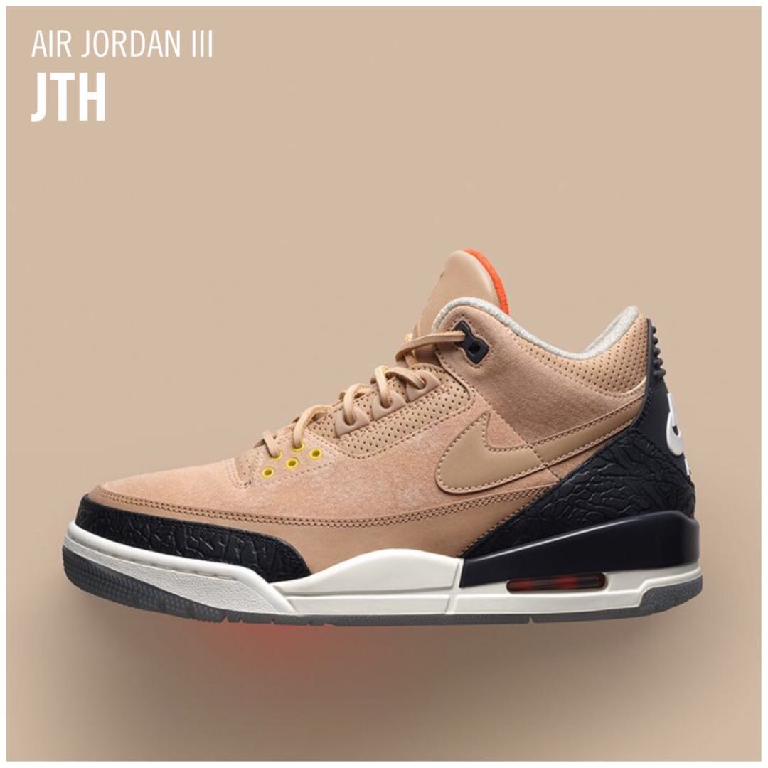 official photos 55447 a38d3 Men s Air Jordan III JTH BIO BEIGE, Men s Fashion, Footwear ...