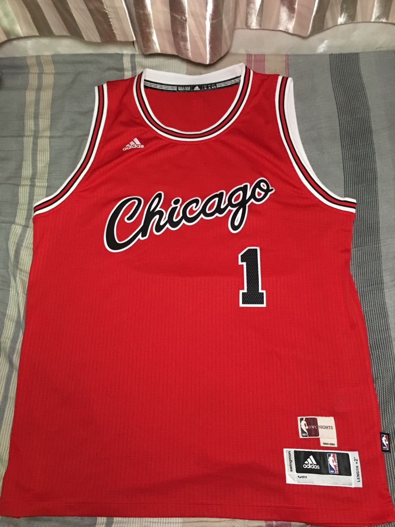NBA Chicago Bulls Derrick Rose Retro HWC Swingman Jersey Adidas not Nike  Reebok 1247d1267