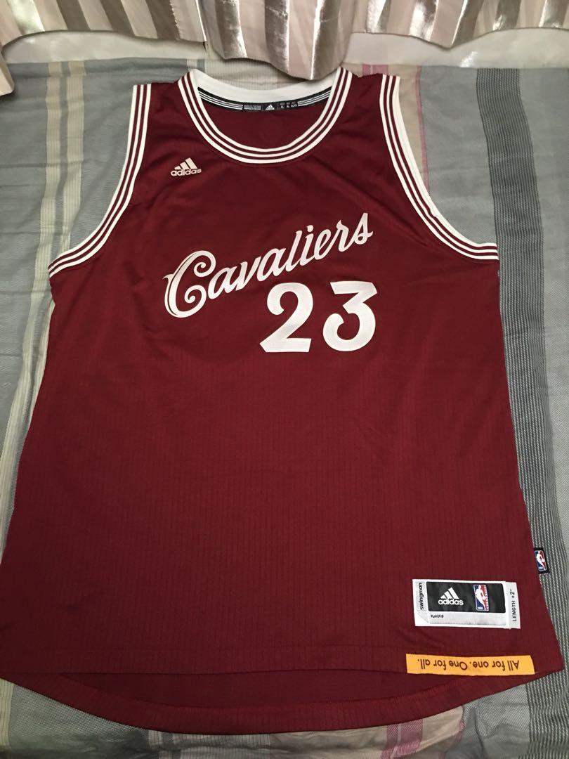9db50bd20a0 NBA Cleveland Cavaliers LeBron James Xmas Games Retro Swingman Jersey  Adidas not Nike Reebok
