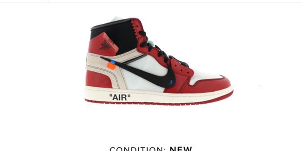 d8c8844c53d8 Off-White Air Jordan 1 Chicago