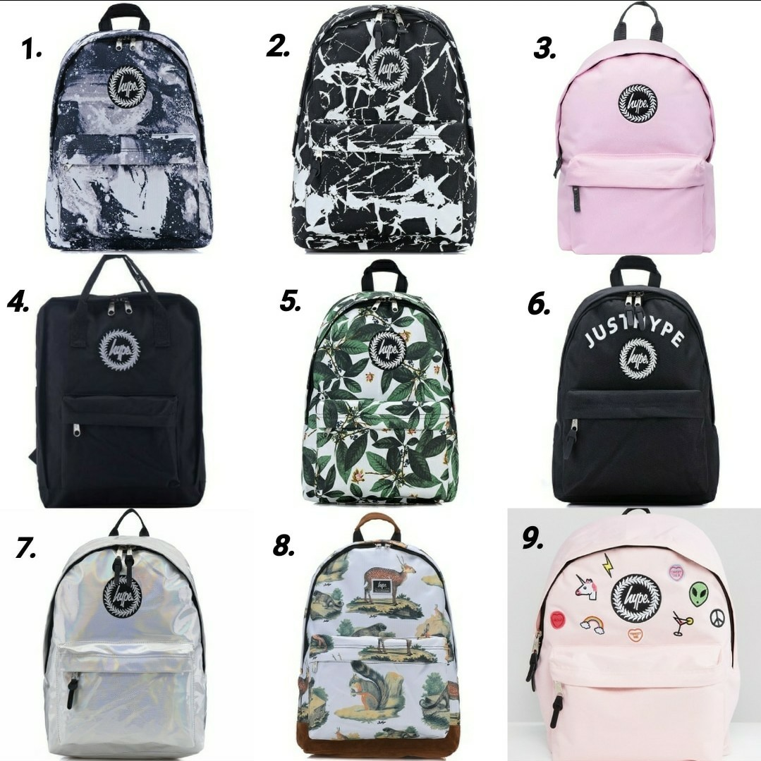 PO  AUTHENTIC JUST HYPE BACKPACK ae4d11b2321db