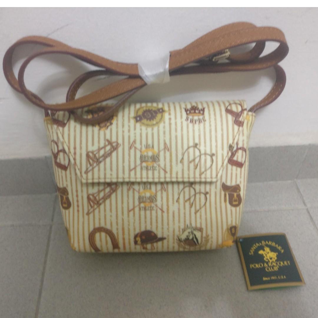 603f6cce31 POLO & Racquet Club Ladies Handbag, Women's Fashion, Bags & Wallets ...