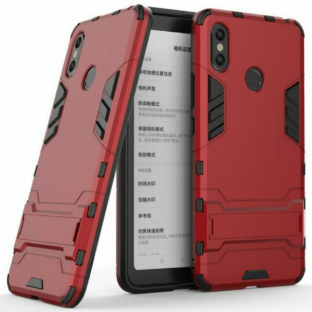 newest 8c2ed b9f21 (Price Reduced! New Arrival! High Quality Anti Shock Case! Ready Stocks!)  Xiaomi Mi Max 3 Anti Shock Full Protection UAG Spigen Armour 360 Degrees