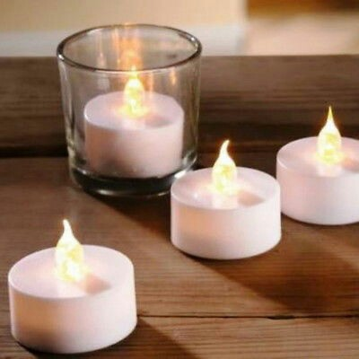 Rechargeable Tea Lights 2 Pcs Rechargeable Candles Amber Yellow Flameless Flikering Electronics Others On Carousell