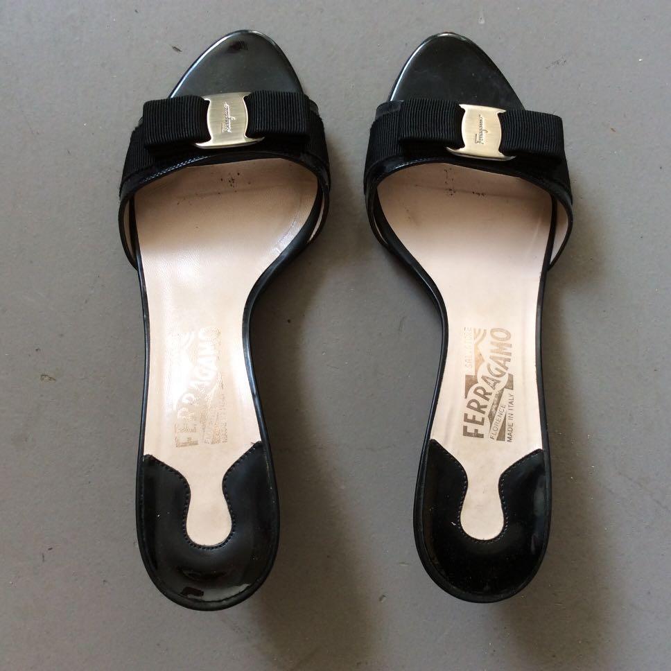 75a63126c0 Salvatore Ferragamo Glory Nero Patent (Black), Luxury, Shoes on ...