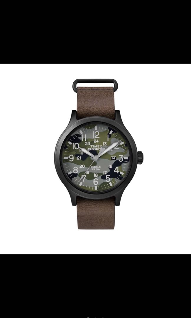 f92d2d6f5 Timex Expedition Scout 43 - Camo Dial TW4B06600, Men's Fashion ...