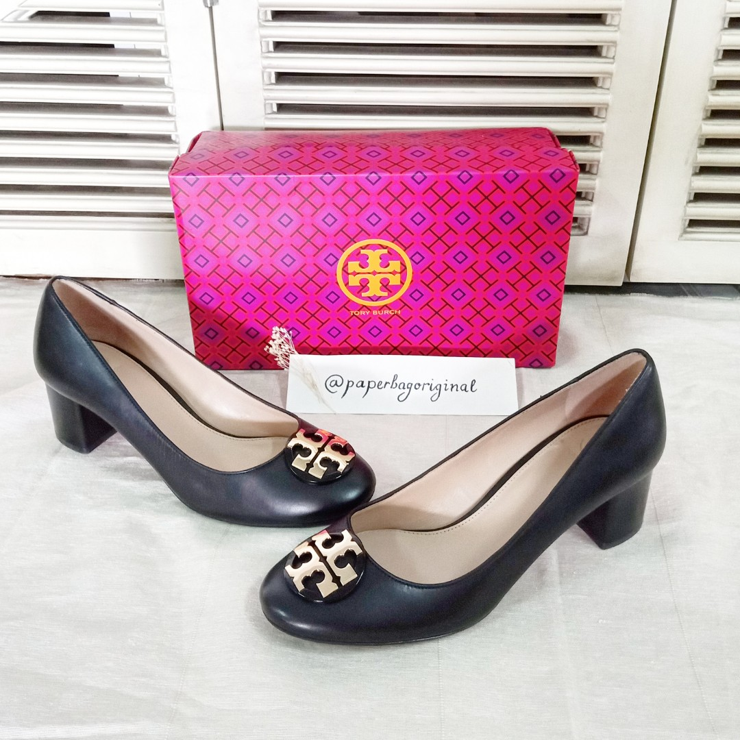 Tory Burch Women Pump shoes woman original Authentic sepatu wanita ... c9f5f1a2e5