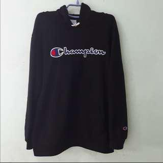 Champion Script Embroided Logo Hoodie
