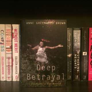 Deep Betrayal by Anne Greenwood