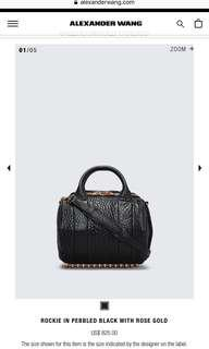 Alexander Wang Rockie Bag WITH TAGS