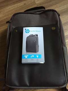 HP Executive Backpack Brown