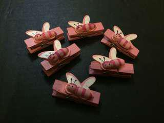 Cute Pink Paper Clips