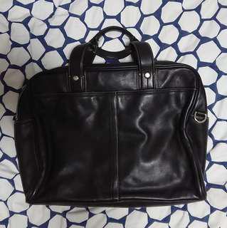 Coach briefcase 真皮公事包 80%NEW 仲有塵袋