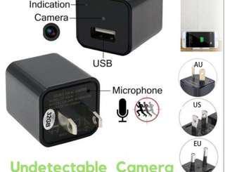 mini USB charger spy camera